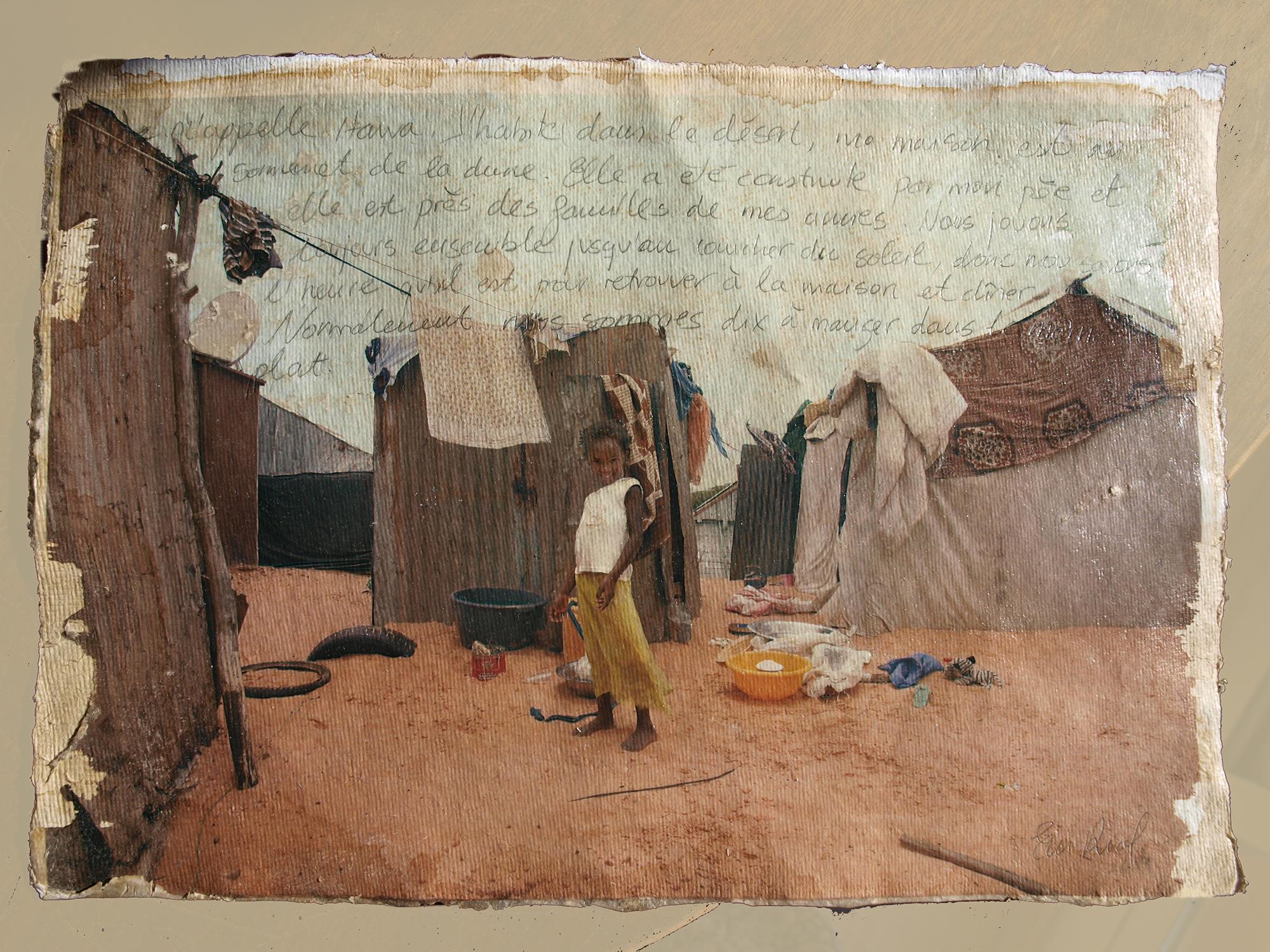 Eva Riol, el desierto mauritano de la mano de una niña